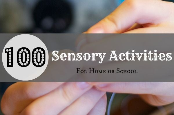 100 Sensory Activities to Celebrate 100th Day {10 activities for 10 areas ranging from proprioceptive to self regulation} #kbn #sensoryplay #spd