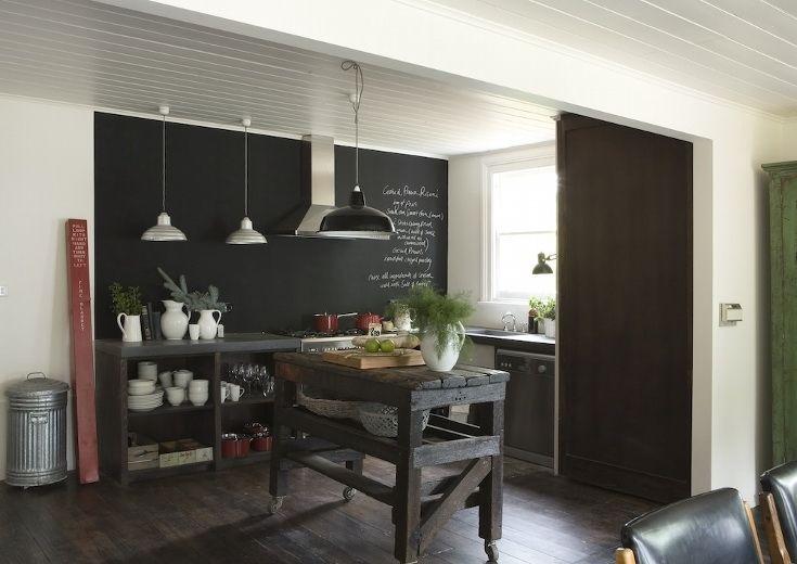 BOISERIE & C.: Pittura Lavagna - Chalk Board Paint: 21 nuove idee per l'estate