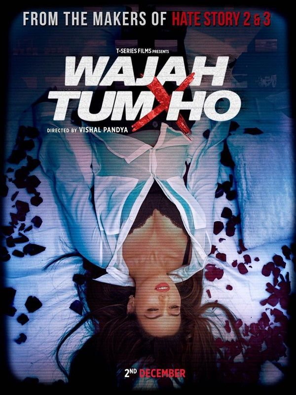 Watch hot and bold new Trailer of Wajah Tum Ho Bollywood movie