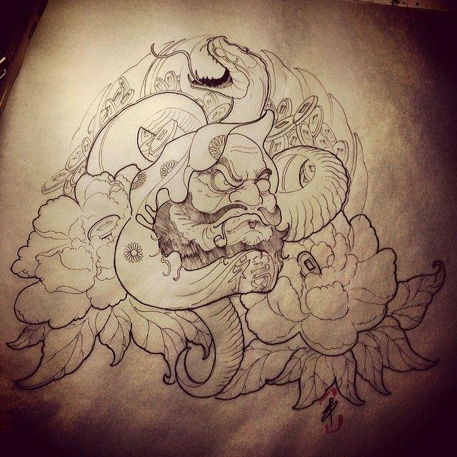 Chronic Ink Tattoo Kitsilano Vancouver Asian Tattoos Ed Truong Daruma Ink Tattoo Daruma Japanese Tattoo