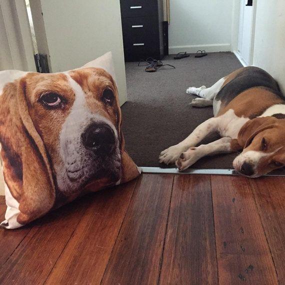 personalised pet cushions   FREE standard by PeachyArtandTreasure