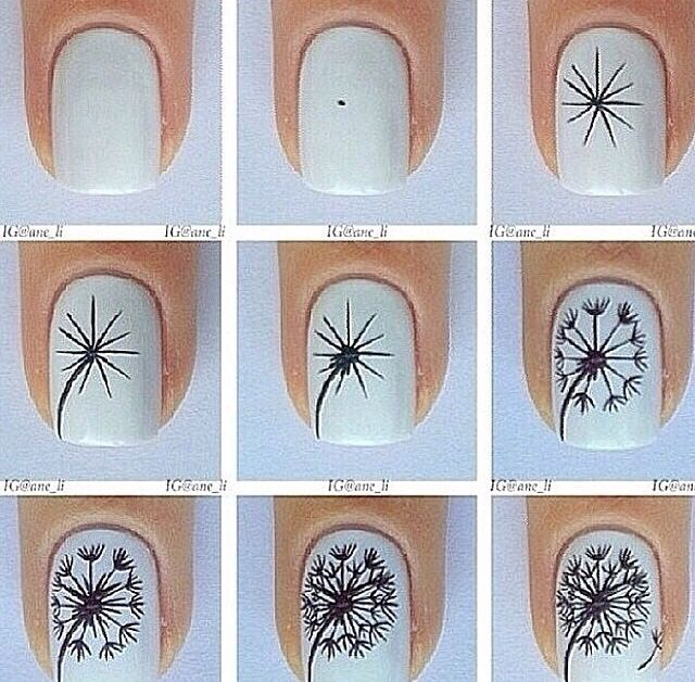 Dandelion nails!