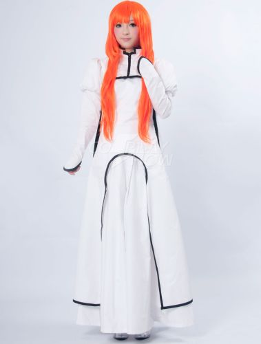 Bleach Inoue Orihime Cotton Polyester Cosplay Costume - Cosplayshow.com by Milanoo