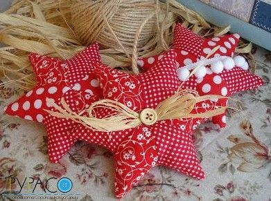 DIY Little Fabric Star