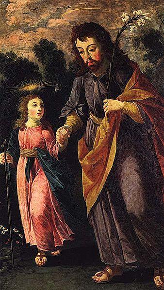São José e o Menino - Josefa de Obidos