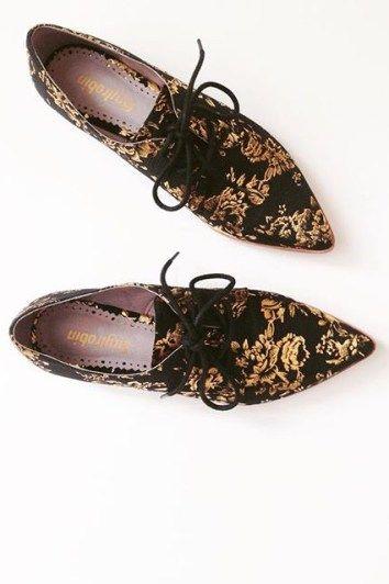 Farylrobin Gilded Rosebloom Oxfords | Pinned by topista.com