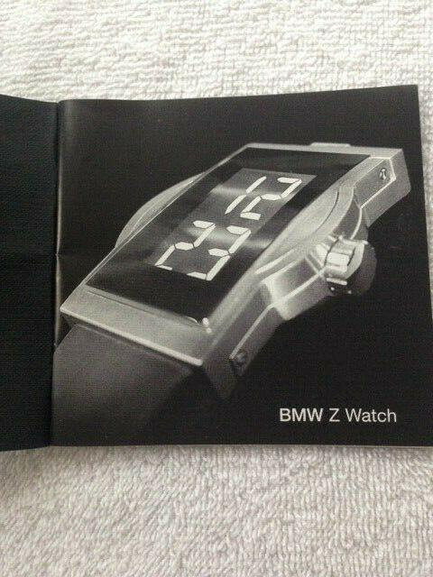 1be8f40a4 BMW Ventura Classic Accessory Sport Red Dot Design Digital LCD Z Automatic  Watch