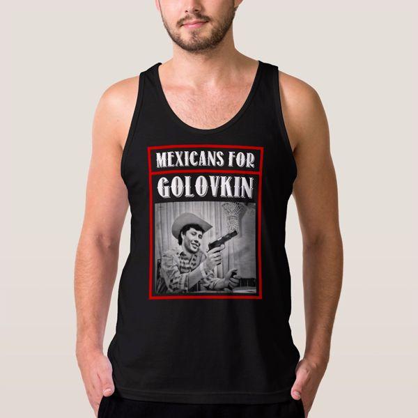 GGG Golovkin Mexicans for Golovkin Men Tank Top - T-Shirts, Tank Tops