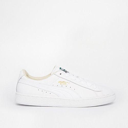 Puma Basket Classic White Sneaker