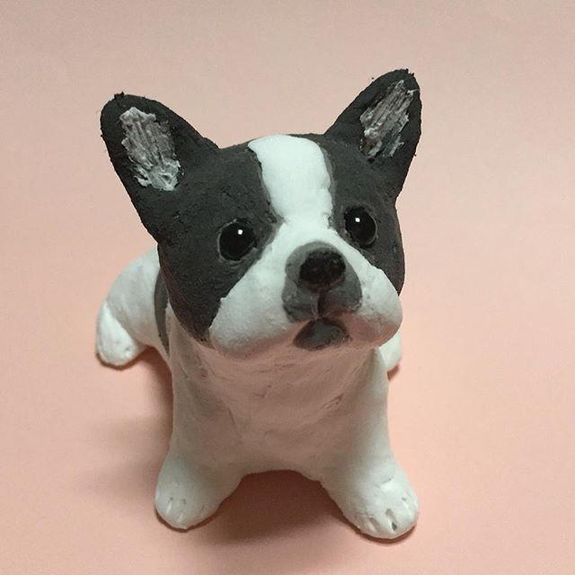 #犬 #ペット #愛犬 #dog #pet #雑貨 #人形 #dool #おもちゃ #toy #ハンドメイド #handmade #動物 #animal #インテリア #小物 #bulldog #ブルドッグ
