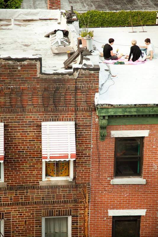 Rooftop jam! #7wonders
