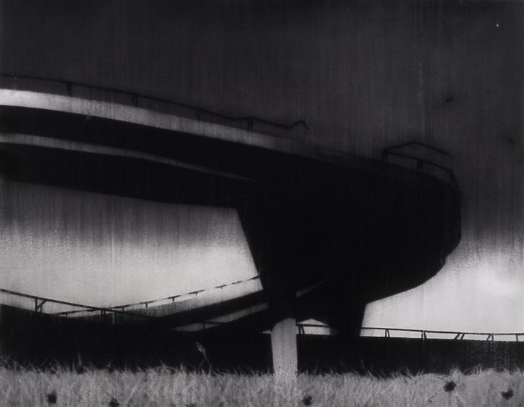 Reece Jones > Cattle Truck > 2003 > Charcoal on paper with polymer varnish