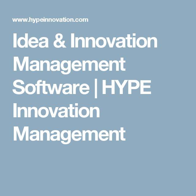Idea & Innovation Management Software | HYPE Innovation Management
