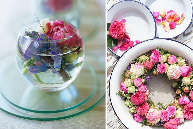 Flores em casa - Água aromática - Revista Westwing