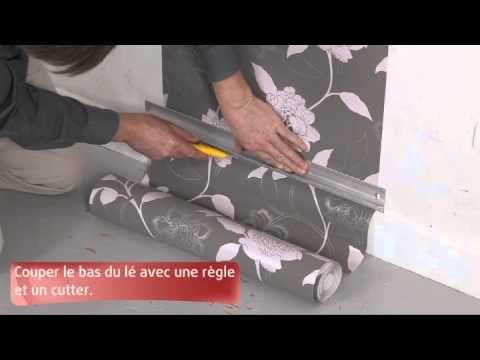 Les 25 meilleures id es de la cat gorie pose papier peint for Comment poser du papier peint