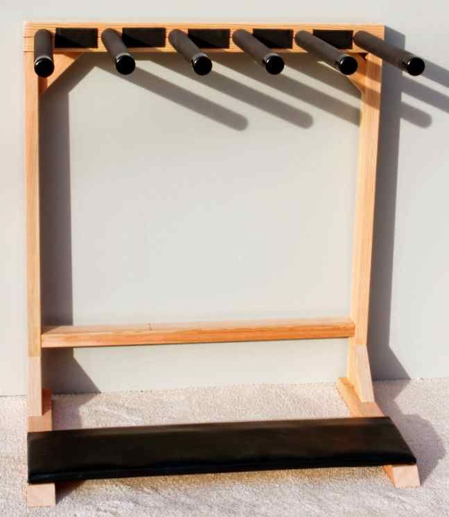 Free-Standing Surf Rack Holds Boards Vertical | Surfboard Storage For Home