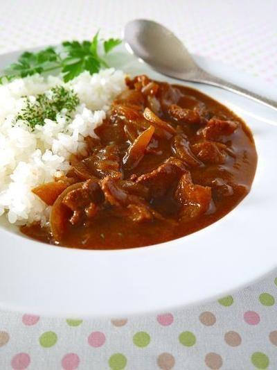 昔ながらの洋食屋さんハヤシライス♪ 定番レシピをもっと簡単に! by ...