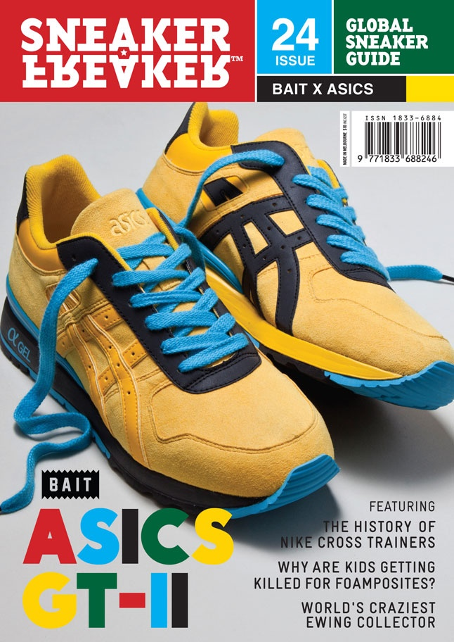 FIRST LOOK: BAIT x ASICS ON SNEAKER FREAKER 24 COVER!