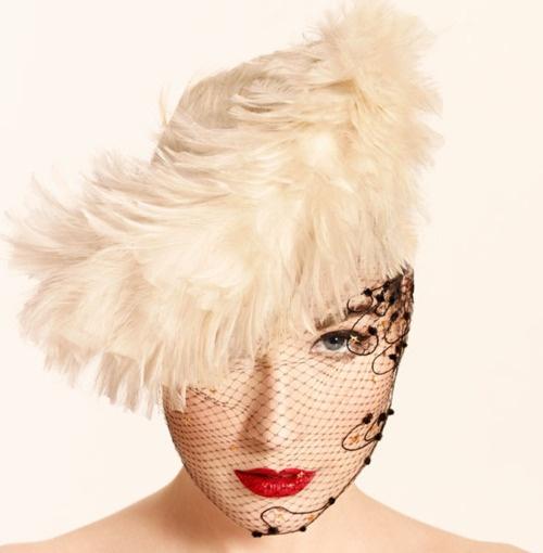 Dita von Tease Veil n feathers