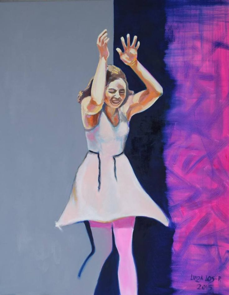 "Saatchi Art Artist Luiza Los-Plawszewska; Painting, ""Say nothing"" #art"