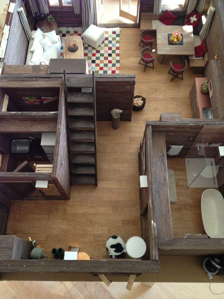 338 Best Miniature Log Cabins Images On Pinterest Doll