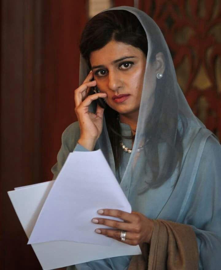Hina Rabbani Khar. Ex FM of Pakistan.