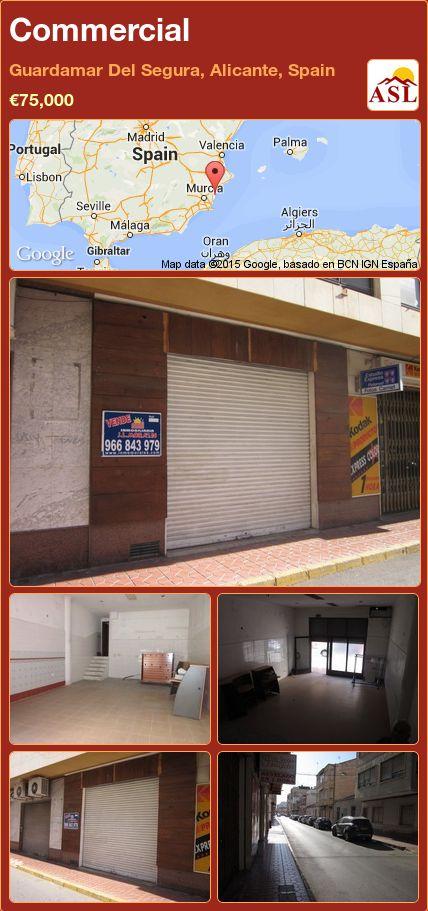 Commercial in Guardamar Del Segura, Alicante, Spain ►€75,000 #PropertyForSaleInSpain