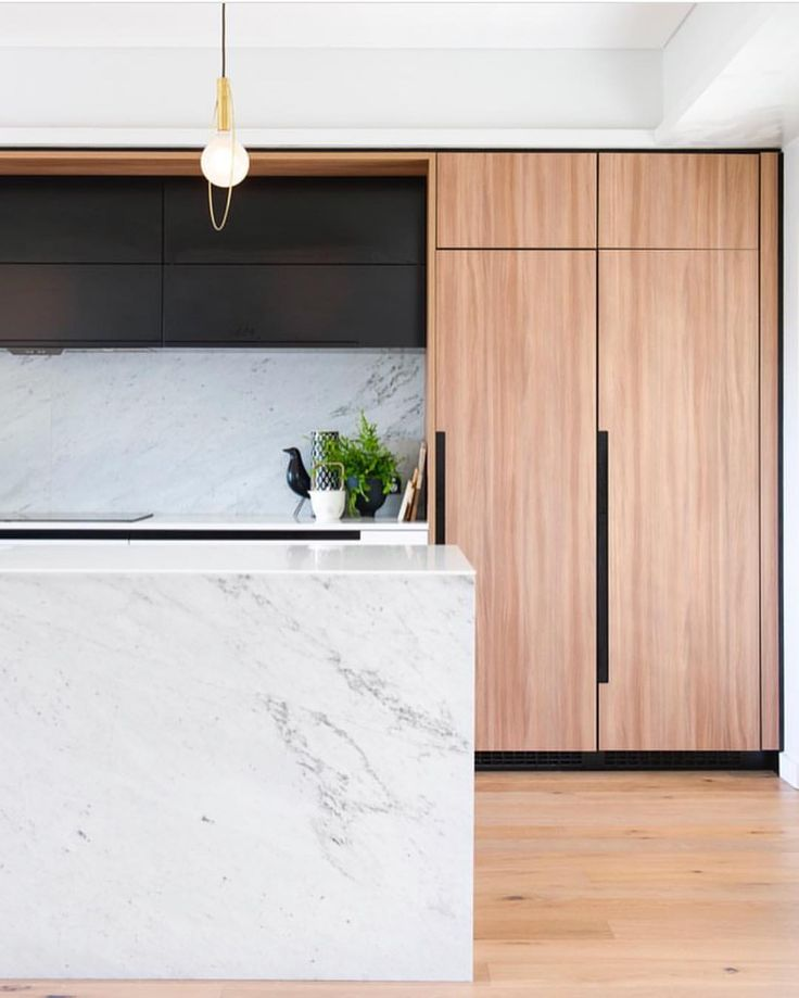 "1,262 Likes, 20 Comments - Dot➕Pop Interiors - Eve Gunson (@dotandpop) on Instagram: ""All the good things - marble, black and oak ❤ Kitchen love by @minosa_design Photo @nicoleengland"""