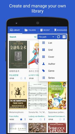 PRO Lirbi Reader: PDF eBooks v6.3.30   PRO Lirbi Reader: PDF eBooks v6.3.30Requirements:2.3Overview:Reader for PDF EPUB MOBI DjVu FB2 TXT RTF AZW3 HTML CBZ  App can read 12 formats of book and has size is only 11MB  At first try free version of this application Lirbi Reader or PDF Reader Classic and then you can make decision to buy or not to buy.   It finds all books on your device and displays covers  Recent books with the percentage of reading the book  Colors for Day mode and night mode…