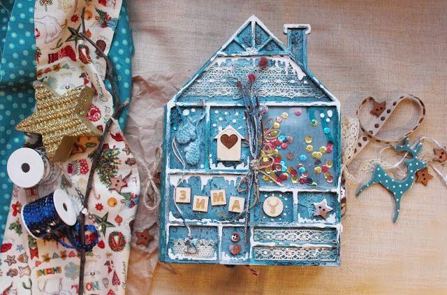 Inspiration by Scrap Argosha: Winterbook. Финальный 6-й этап.