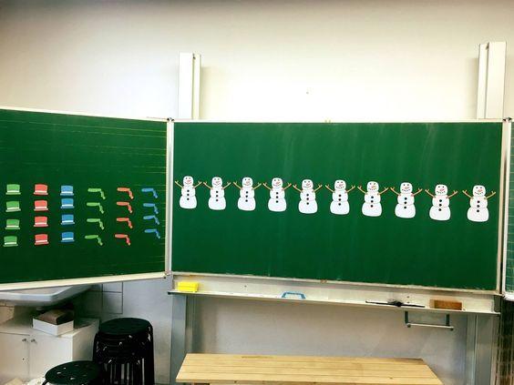 9. Türchen: Mathe Kombinatorik - Den Schneemann einkleiden