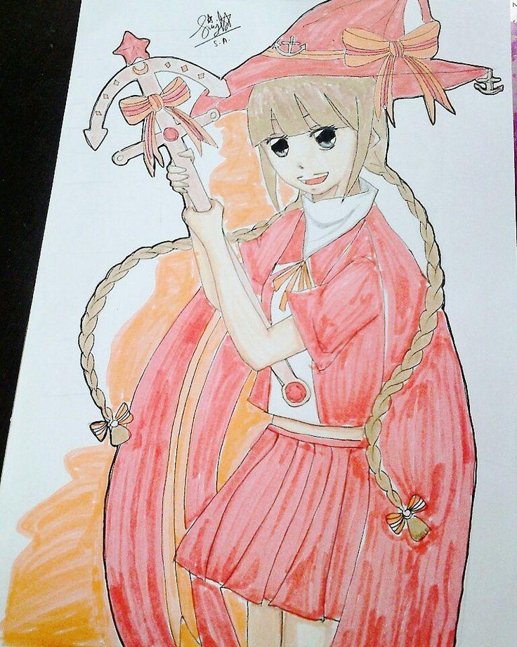 Wadanohara fanart by me   Follow at instagram @shiroukira