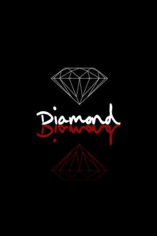 DeviantArt: More Artists Like Diamond Supply Iphone by Chu-u