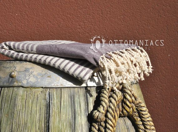 France Linen Towel Sea Beach Towel Beach Dress Swim by Ottomaniacs, $18.99