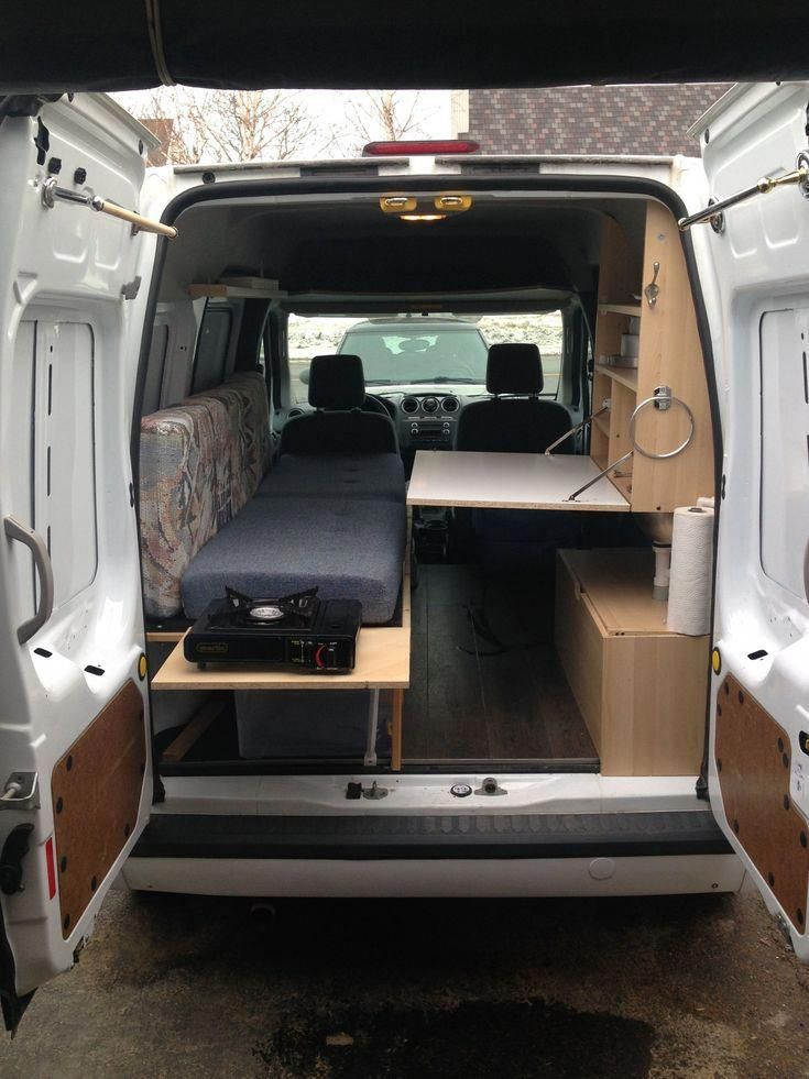 Untitled Van Camping Ford Transit Connect Camper Minivan Camping
