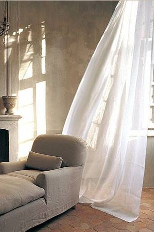 Curtains white curtains and french linens on pinterest