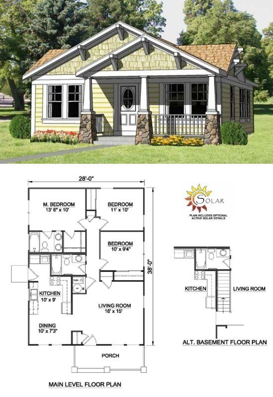 91 best Bungalow\/Craftsman Porches images on Pinterest Craftsman - bungalow floor plans