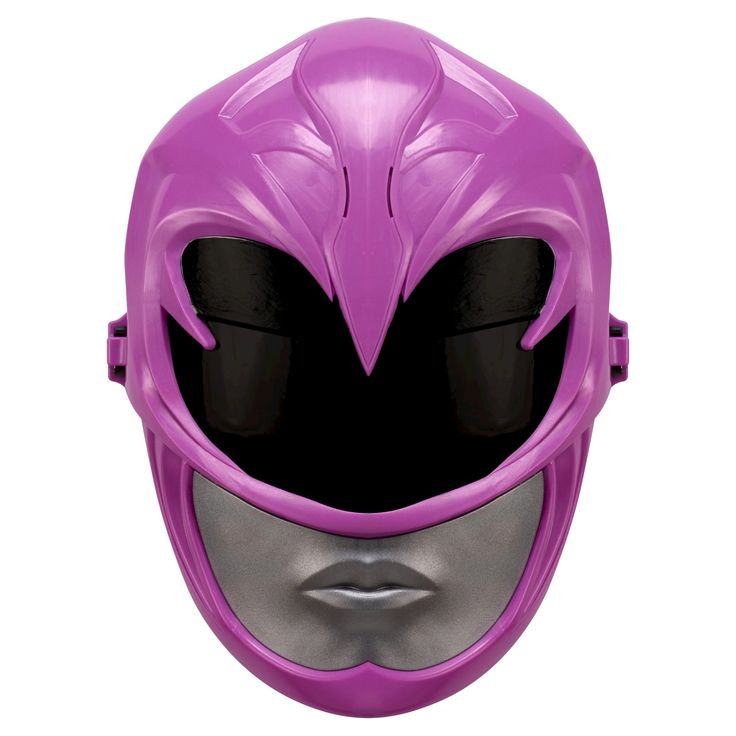 Power Rangers Movie Pink Ranger Sound Effects Mask, Kids Unisex