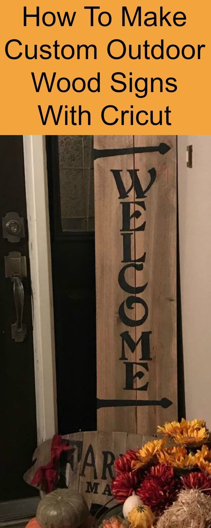 Create Wood Signs with Cricut Small Easy Wood Projects
