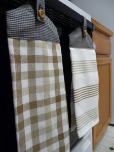 Hanging Kitchen Dish Towels