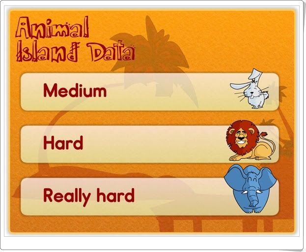 """""""Animal Island Data"""" (Estadística de 1º y 2º de Primaria)"""