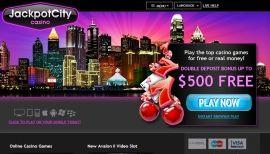 Consigue $500 Bonos de Casino GRATIS para jugar online en el Casino Online JackpotCity. Juega a las Tragamonedas, Blackjack y Ruleta online ahora.