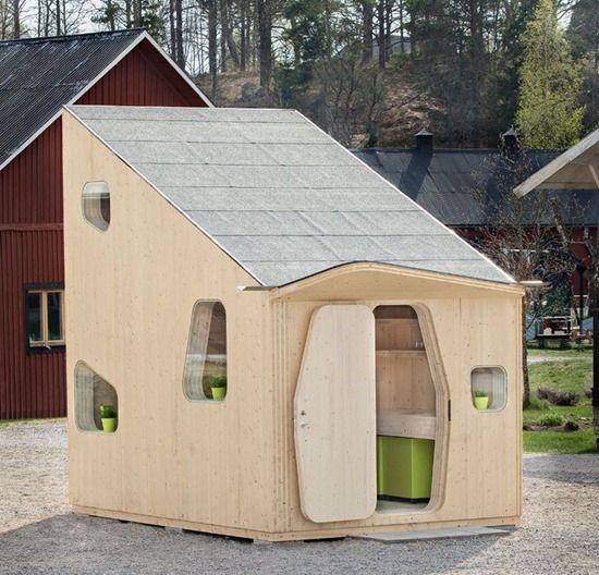 casa de estudante projetada por suécos