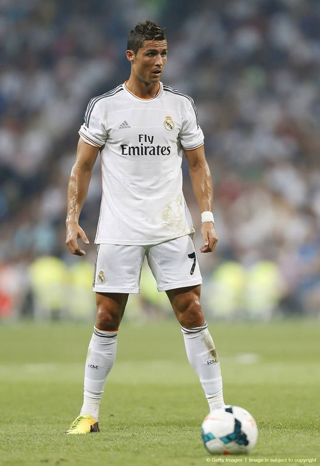CR7 in Real Madrid v. Real Betis (18/8/13)
