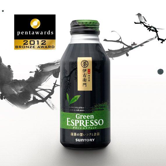 Упаковка готового чая – Suntory