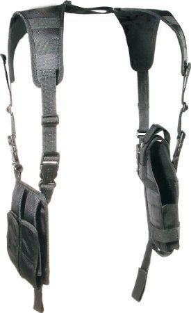 UTG Deluxe Vertical Shoulder Holster, Black $20.19 prime