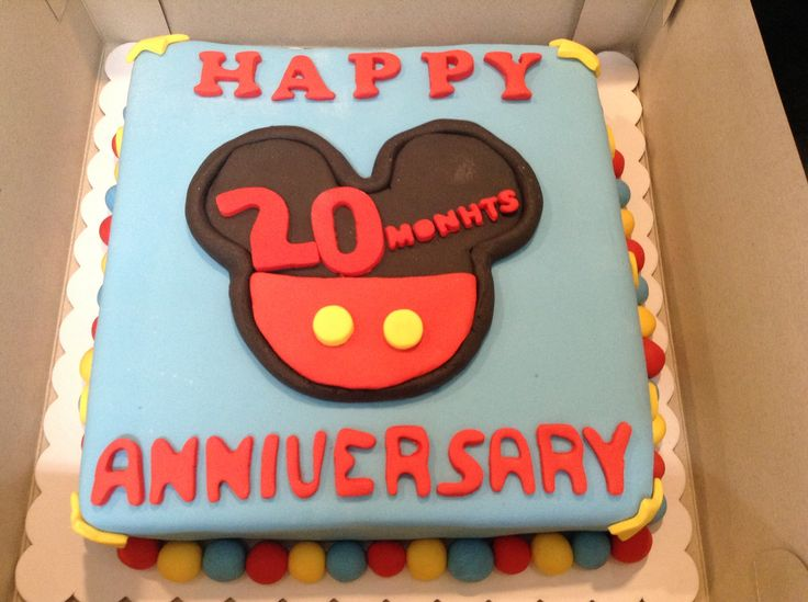 Leanne and Jm's anniversary cake