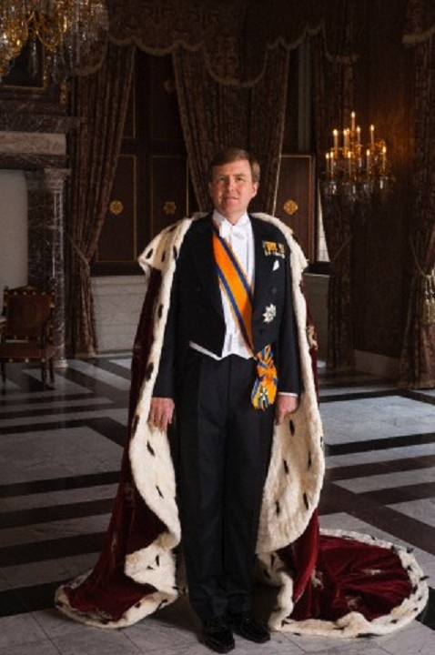 King Willem-Alexander (Willem-Alexander Claus George Ferdinand) (1967-living2013) Netherlands. Husband of Queen Máxima Zorreguieta Cerruti (1971-living2013) Argentina.