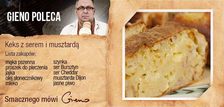 Keks z serem i musztardą #cheese #recipe #polish