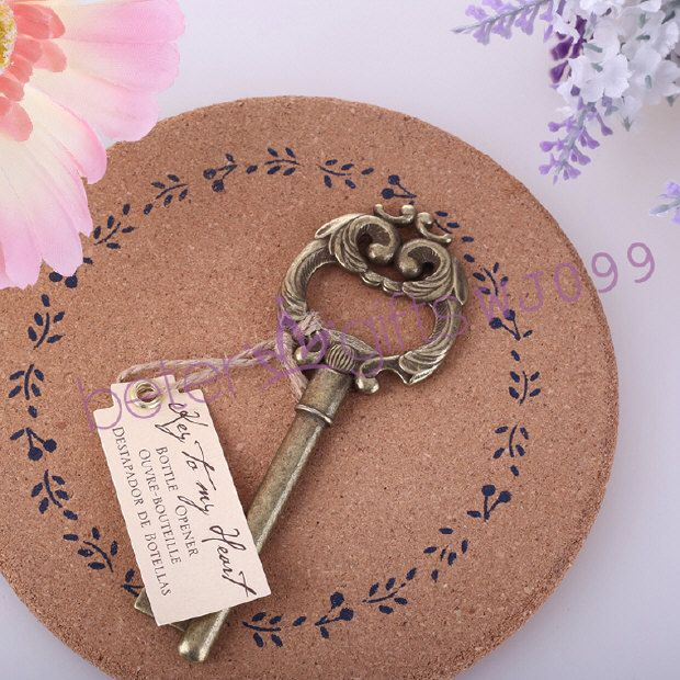 Find More Event Party Supplies Information About Free Shipping 100pcs Key To My Heart Antique Unique Wedding FavorsWedding